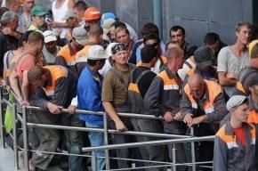 Петербург остался без полумиллиона мигрантов