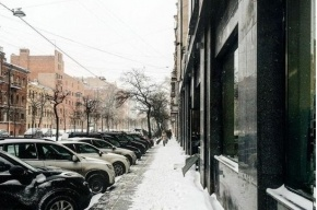 Петербург занесло