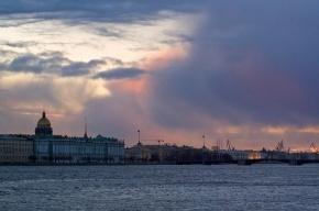 Дождь с мокрым снегом придут в Петербурга