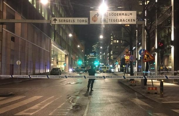 Взрыв прогремел в центре Стокгольма