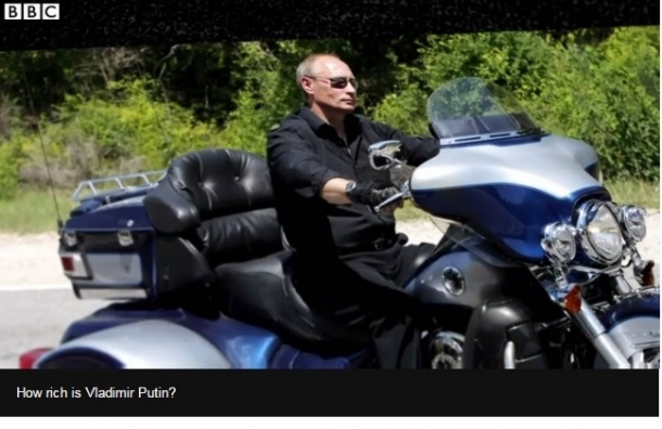 Минфин США назвал Путина коррупционером