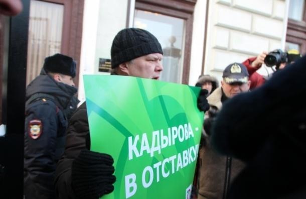 Экс-председателя «Яблока» Митрохина задержали у администрации президента