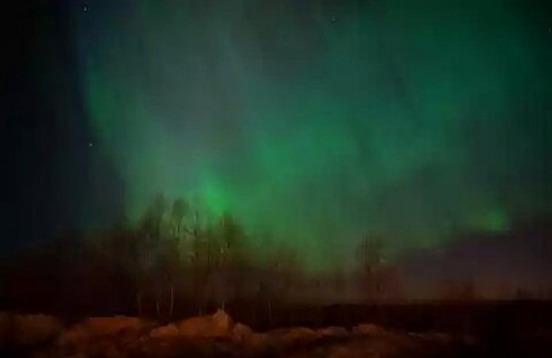 Северное сияние увидят в Петербурге вторую ночь подряд