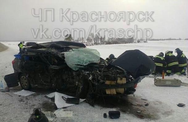 Видео страшной аварии, где погибли пятеро, опубликовали в Сети