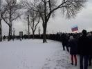 Фоторепортаж: «Колонна марша памяти Немцова в Петербурге, фото: MR7»