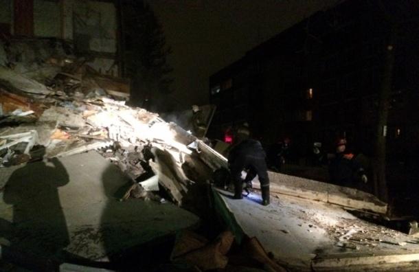 Жилой дом рухнул в Ярославле из-за взрыва бытового газа