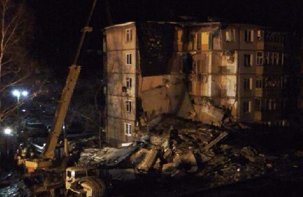 Первое видео с места взрыва дома в Ярославле опубликовали СМИ