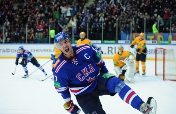 Ковальчук не сыграет в домашних матчах СКА с «Локомотивом»