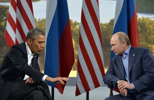 Путин и Обама поговорят о прекращении огня в Сирии