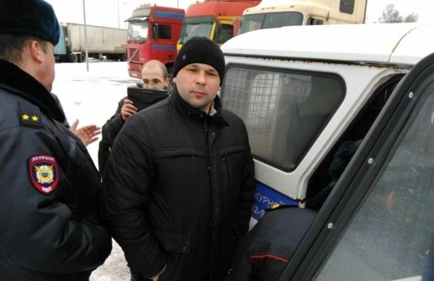 Дальнобойщиков обвиняют в нарушении закона о митингах