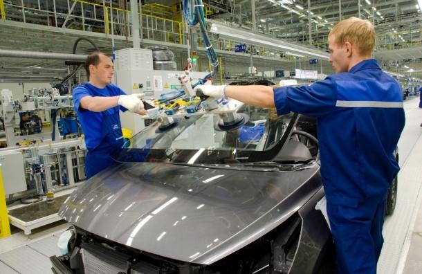 Производство автомобилей в Петербурге упало на 46%