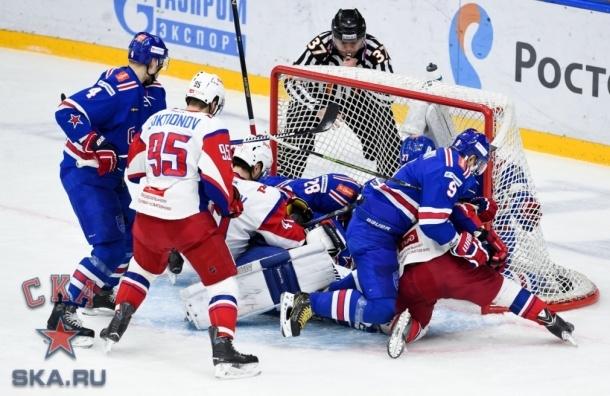 СКА обыграл «Локомотив» в 1/8 финала Кубка Гагарина