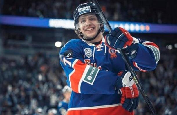 Экс-игрок СКА признан лучшим игроком дня в НХЛ