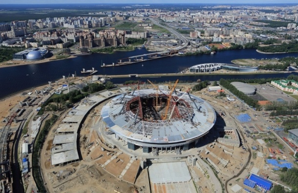 Смольный выплатит генподрядчику «Зенит-Арены» 435 млн на достройку стадиона