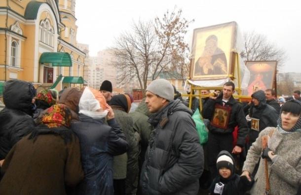 Крестный ход против гриппа и ОРВИ организуют в Липецке