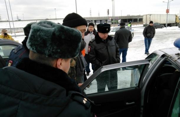 Еще двоих противников системы «Платон» задержали у Меги-Дыбенко