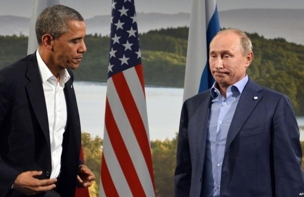 Путин и Обама переговорили по телефону о Сирии и Украине