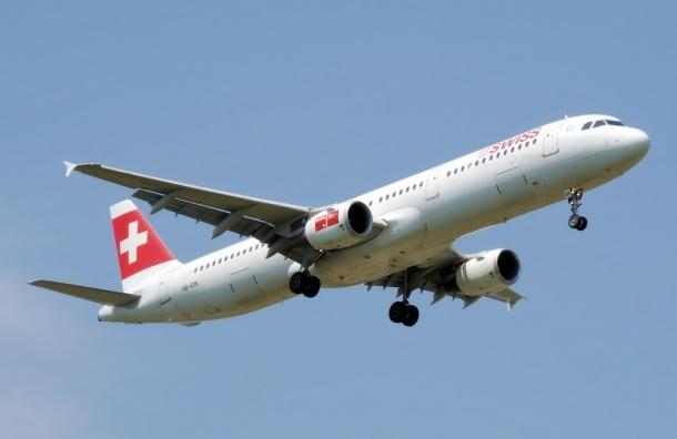 Рейс из Петербурга авиакомпании Swiss Air совершил аварийную посадку в Женеве
