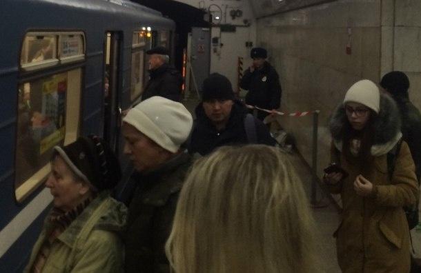 Очевидцы: Женщина упала на рельсы на станции «Пролетарская» и умерла