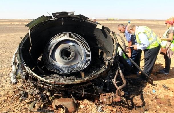 СМИ: обломки А 321 начнут транспортировать в Каир с 4 февраля
