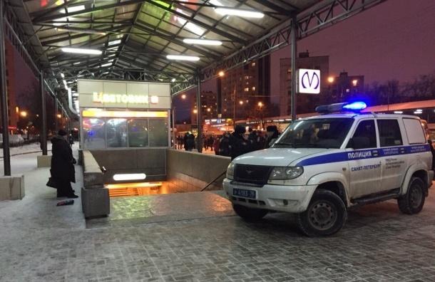Метро «Проспект Ветеранов» закрыто из-за постороннего предмета