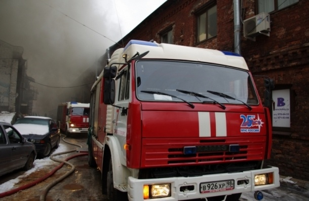 Пожар на Лиговском проспекте локализован