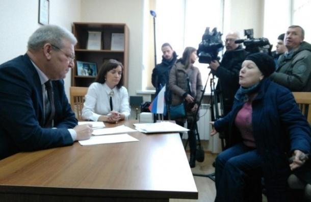 Валютные ипотечники атаковали в офис «Единой России» в Петербурге