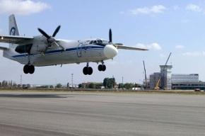 Пожар произошел на борту АН-24 под Иркутском