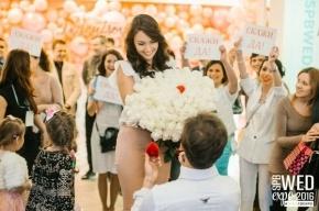 Влюбленные провели 14 февраля на свадебной выставке SPB WED EXPO