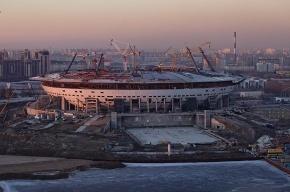 Албин и Дерипаска посетили стадион на Крестовском