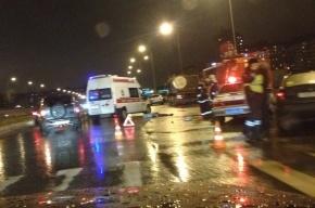 В аварии на Долгоозерной погибла женщина-пешеход