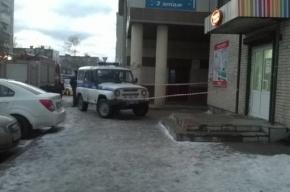 Очевидцы: Полиция огородила рынок во Всеволожске из-за сообщения о бомбе