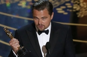 Ди Каприо поблагодарил за Оскар