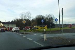 Полиция назвала причину столкновения поездов в Германии