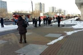 Сотрудников петербургского метро эвакуировали из-за короткого замыкания
