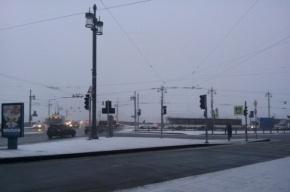 Светофоры отключаются из-за сильного снегопада