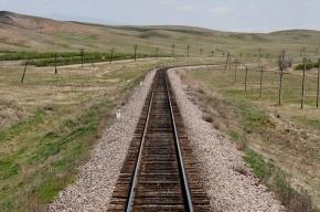 Украинский поезд потерялся, «заблудившись» в Казахстане