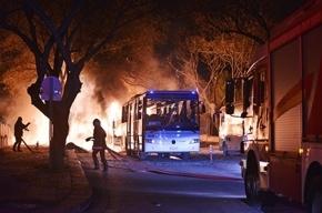 Видео с места теракта в Анкаре появилось в сети