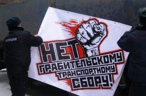 К петербургскому лагерю «Антиплатон» присоединилась фура из Челябинска