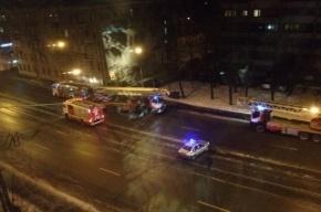 Серьезный пожар произошел на Новочеркасском проспекте