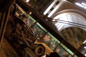 Два джипа столкнулись «лоб в лоб» на Среднем проспекте