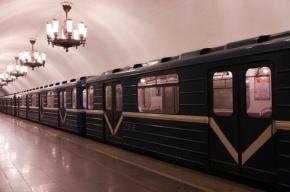 Пассажир подземки Петербурга отрывал плафоны и выкидывал в окно поезда