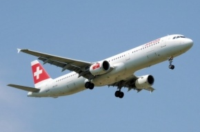 Рейс из Петербурга Swiss Air аварийно сел в Женеве