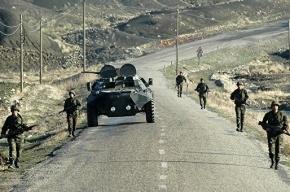 Турецкий военный конвой подорвался на бомбе
