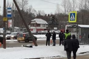 Женщину насмерть сбила маршрутка, влетевшая в остановку на Байконурской
