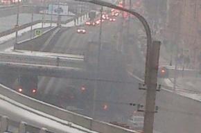 Очевидцы: взрыв автомобиля произошел на Обводном канале