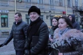 Актер Безруков провел экскурсию по гоголевским местам Петербурга