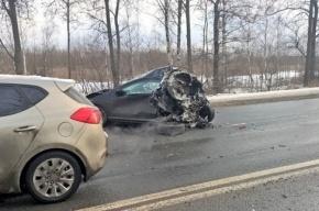 Массовое ДТП произошло на Московском шоссе