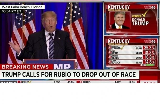 Трамп выиграл праймериз в Кентуки