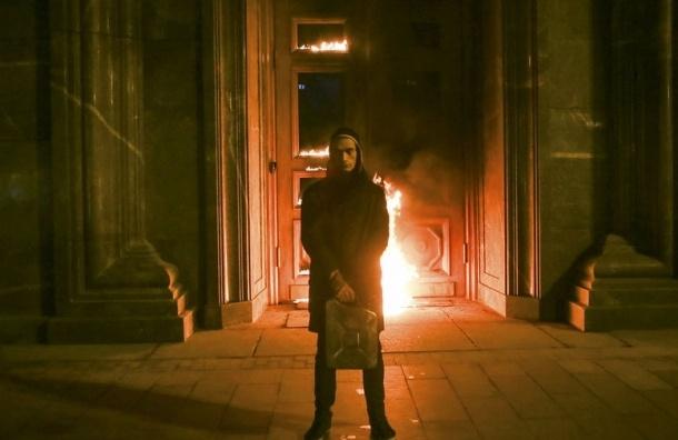 Активисты поздравили Павленского с днём рождения